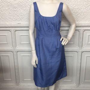 J. Crew Blue Cotton Sheath Dress